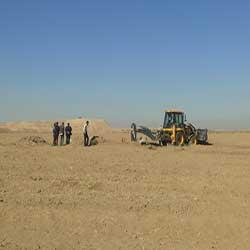 انسداد شانزده حلقه چاه غیرمجاز در شهرستان دهلران
