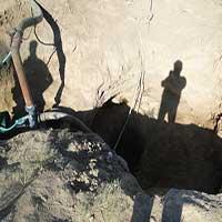 شناسایی و پر و مسلوب المنفعه نمودن چاه های غیر مجاز در شهرستان دهلران